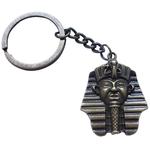 Porte Clé Métal Tête Pharaon Roi d'Égypte
