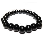 Bracelet bois noir 10mm 2