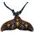 Collier extensible pendentif queue de baleine tortues de mer