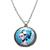 Collier pendentif métal Tête de mort Mexicaine La Catrina