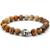 Bracelet Pierre Jaspe Tête de Bouddha 1
