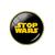 Broche métal paradoqiue stop wars 1