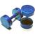 Piercings Faux Écarteurs Plug Bleu 6mm 1