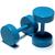 Piercings Faux Écarteurs Plug Bleu Turquoise 6mm 1
