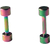 Piercings Faux Écarteurs Plug Coloré 3mm