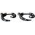 Piercings Faux Écarteurs Plug Spirale Drapeau Pirate 3mm