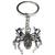 Porte clé métal araignée