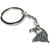 Porte clé métal tête d'aigle