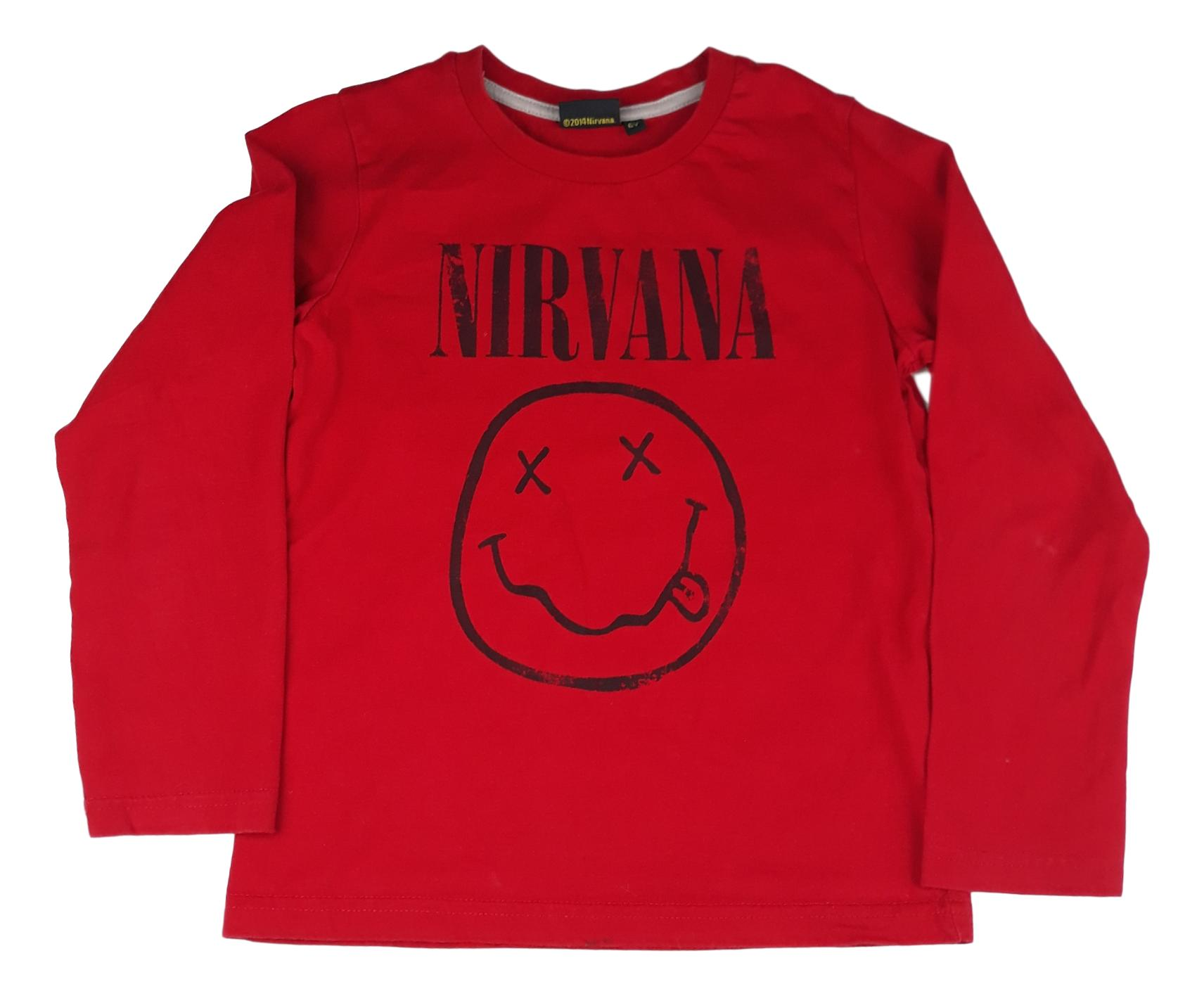 Nirvana - taille 6 ans