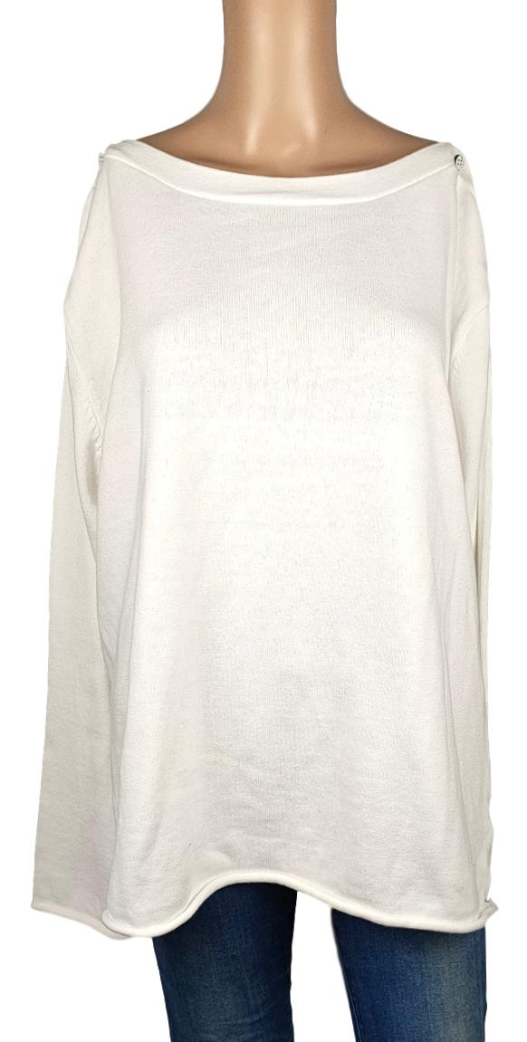 Pull -Blanc du Nil- Taille 44