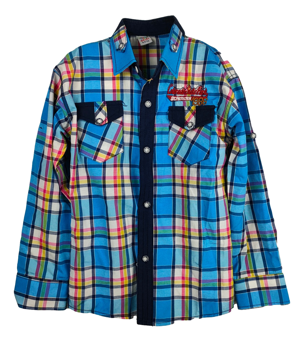Chemise Tombis Life - taille 8-9 ans