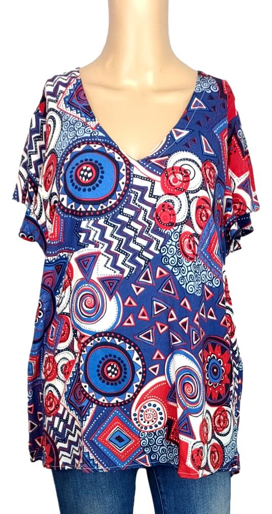 Blouse Christine Laure - Taille 4 ( XL)