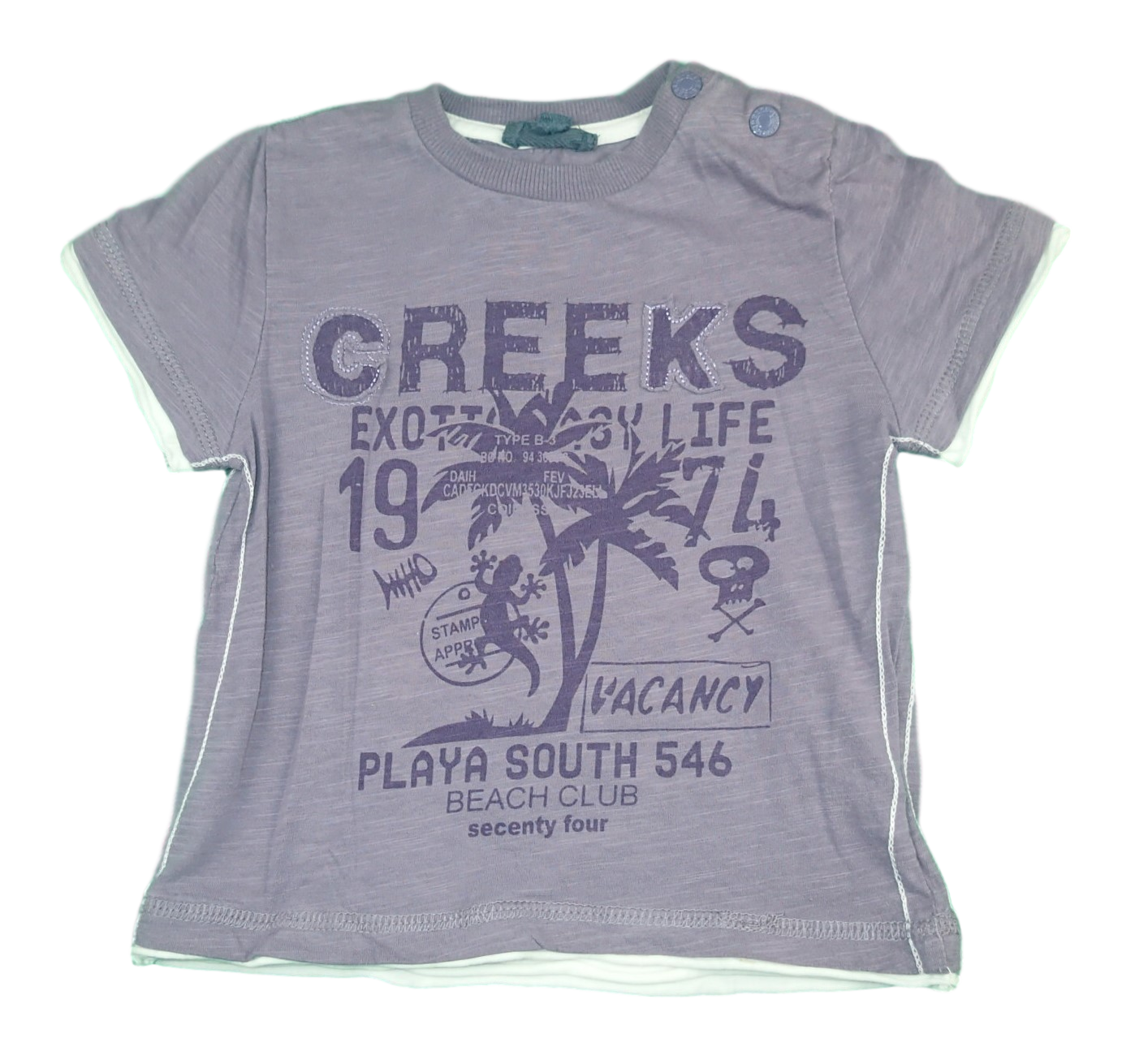 Creeks  - taille 24 mois