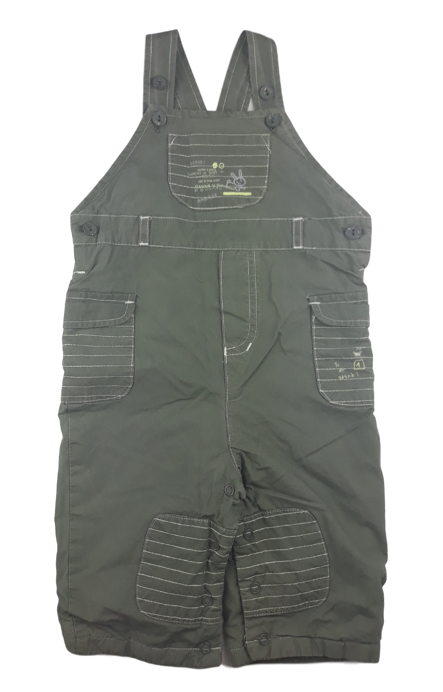 Sergent Major - Taille 9 mois