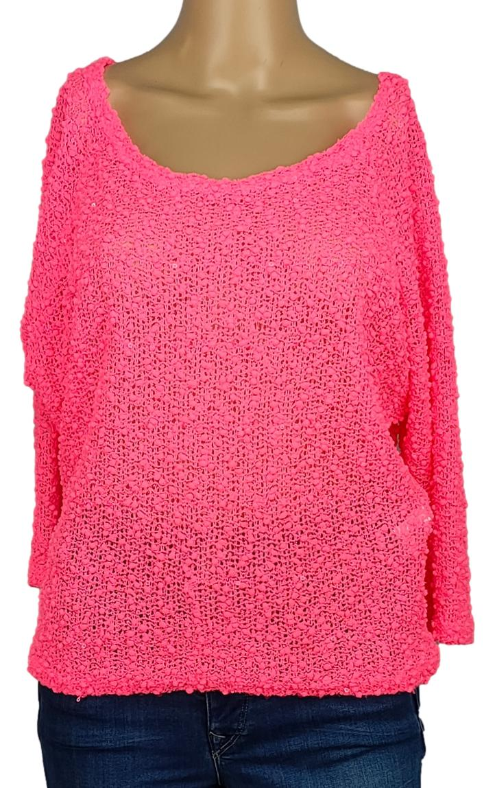 Pull cache cache - Taille 40