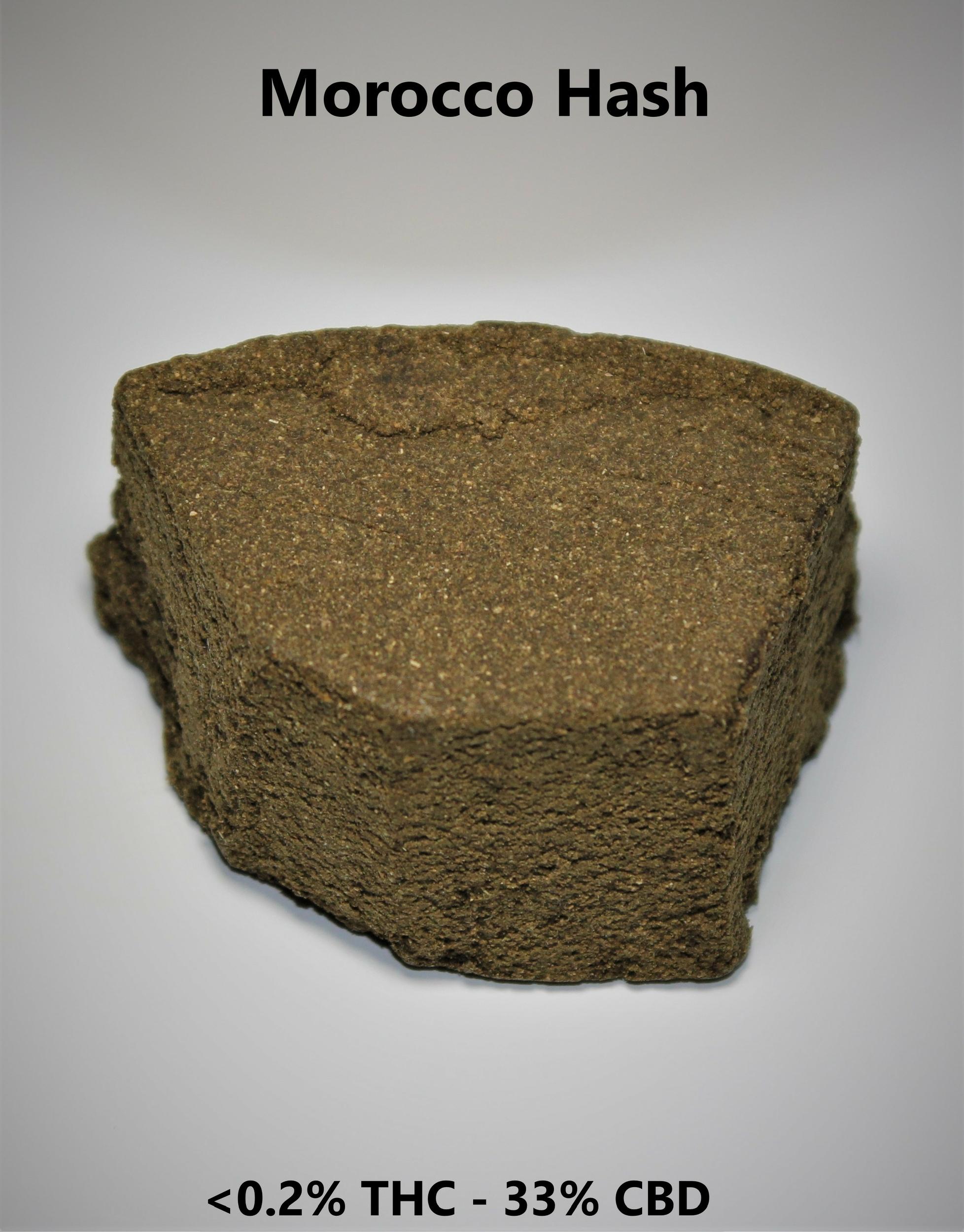 Morocco Hash <0.2% THC - 33% CBD