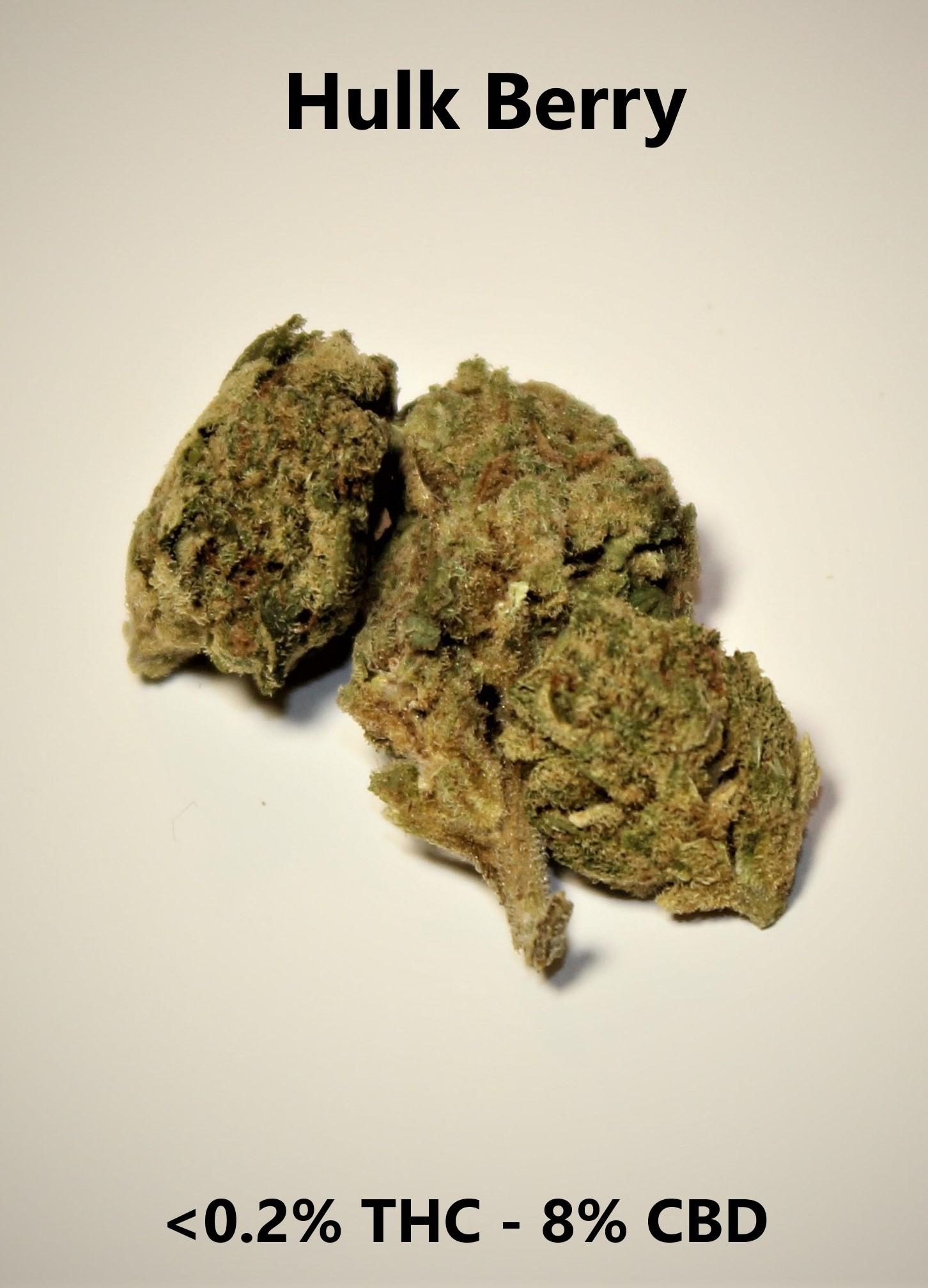 Hulk Berry - <0.2% THC / 8% CBD