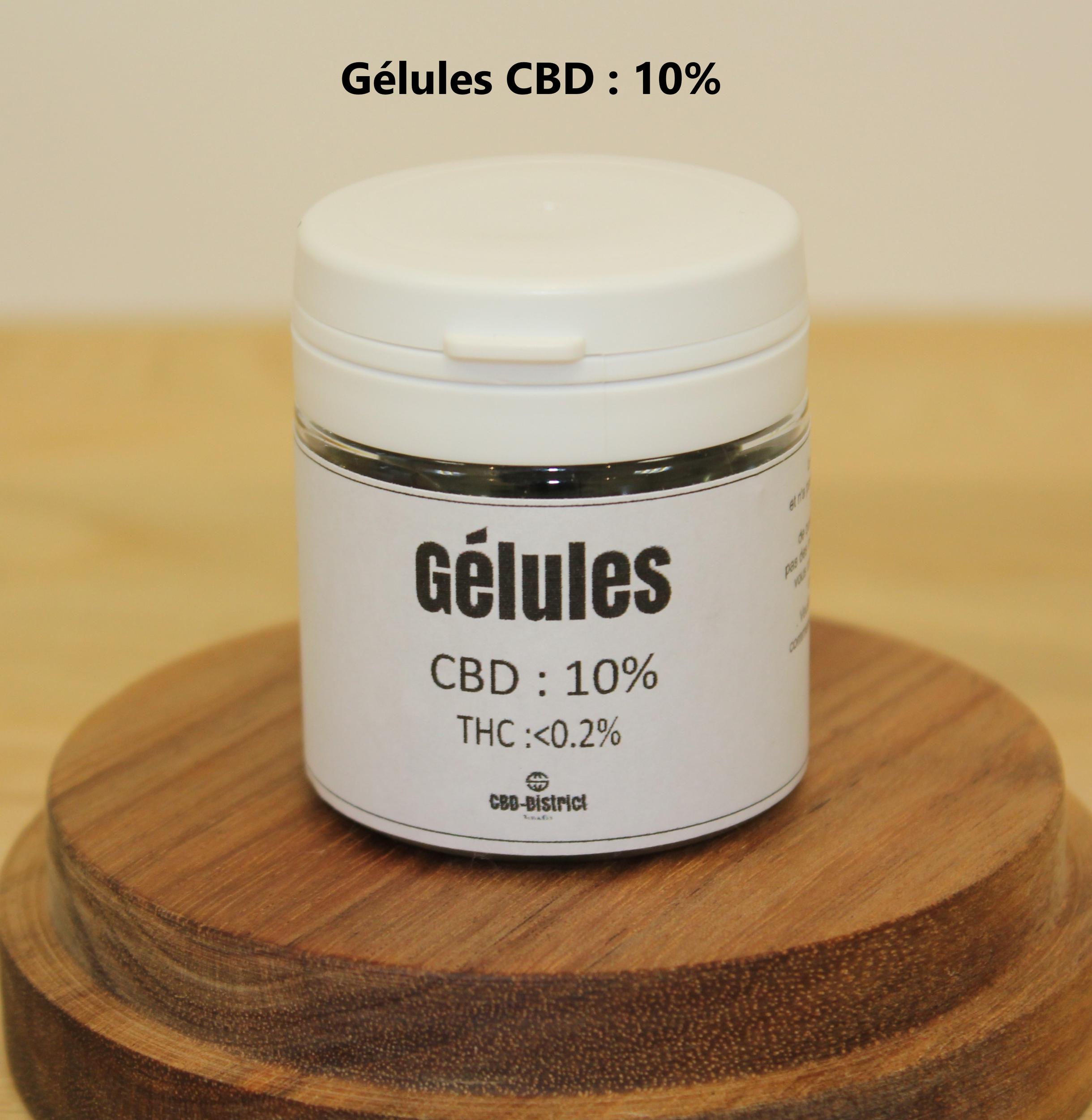 Gélules CBD 10%