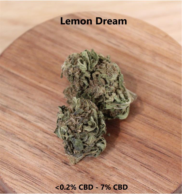 Lemon Dream <0.2% THC 7% CBD