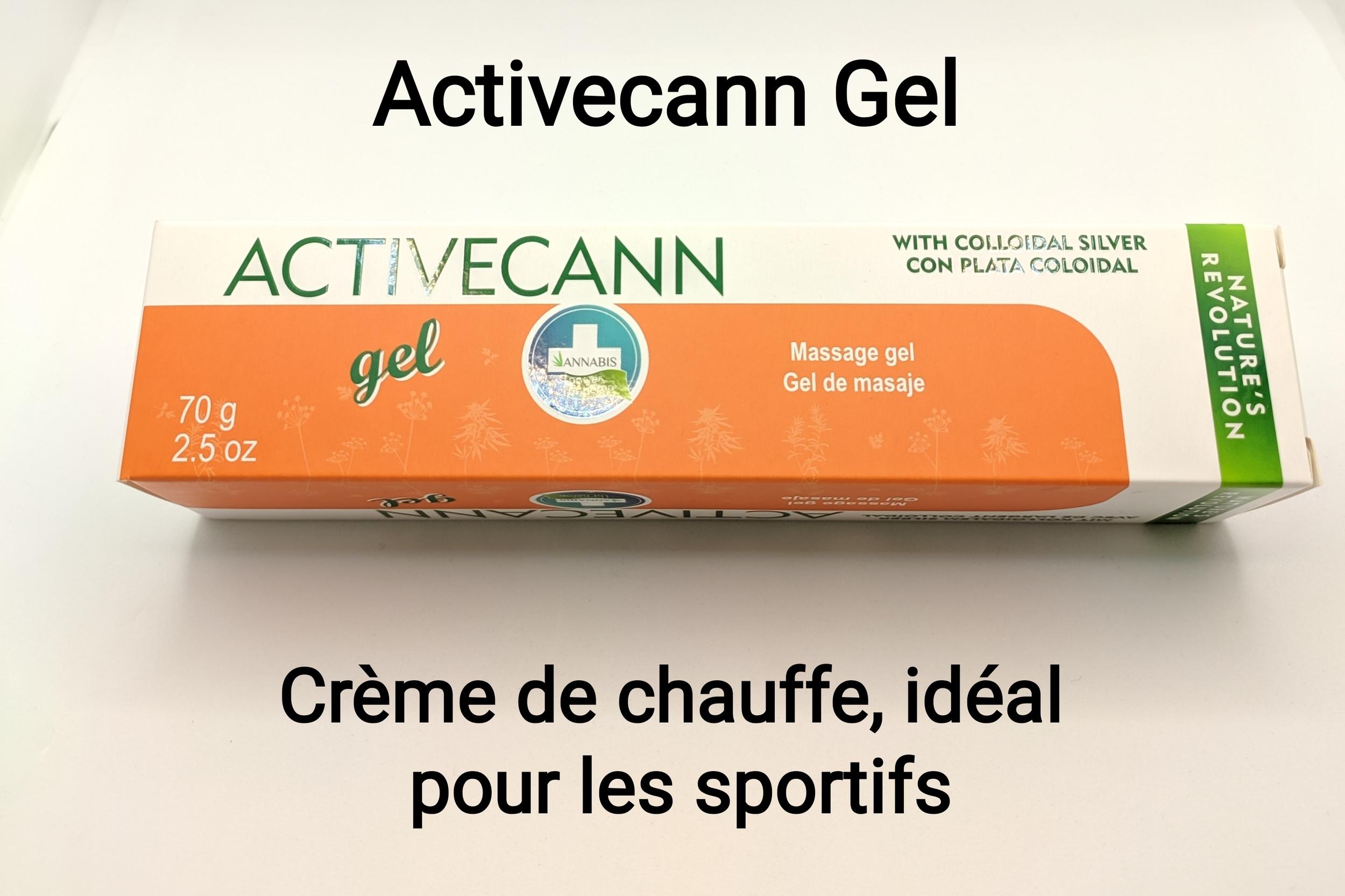 Activecann gel-chauffe