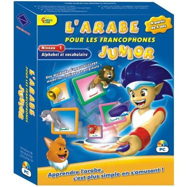 L\'arabe pour les francophones Junior - CDROM