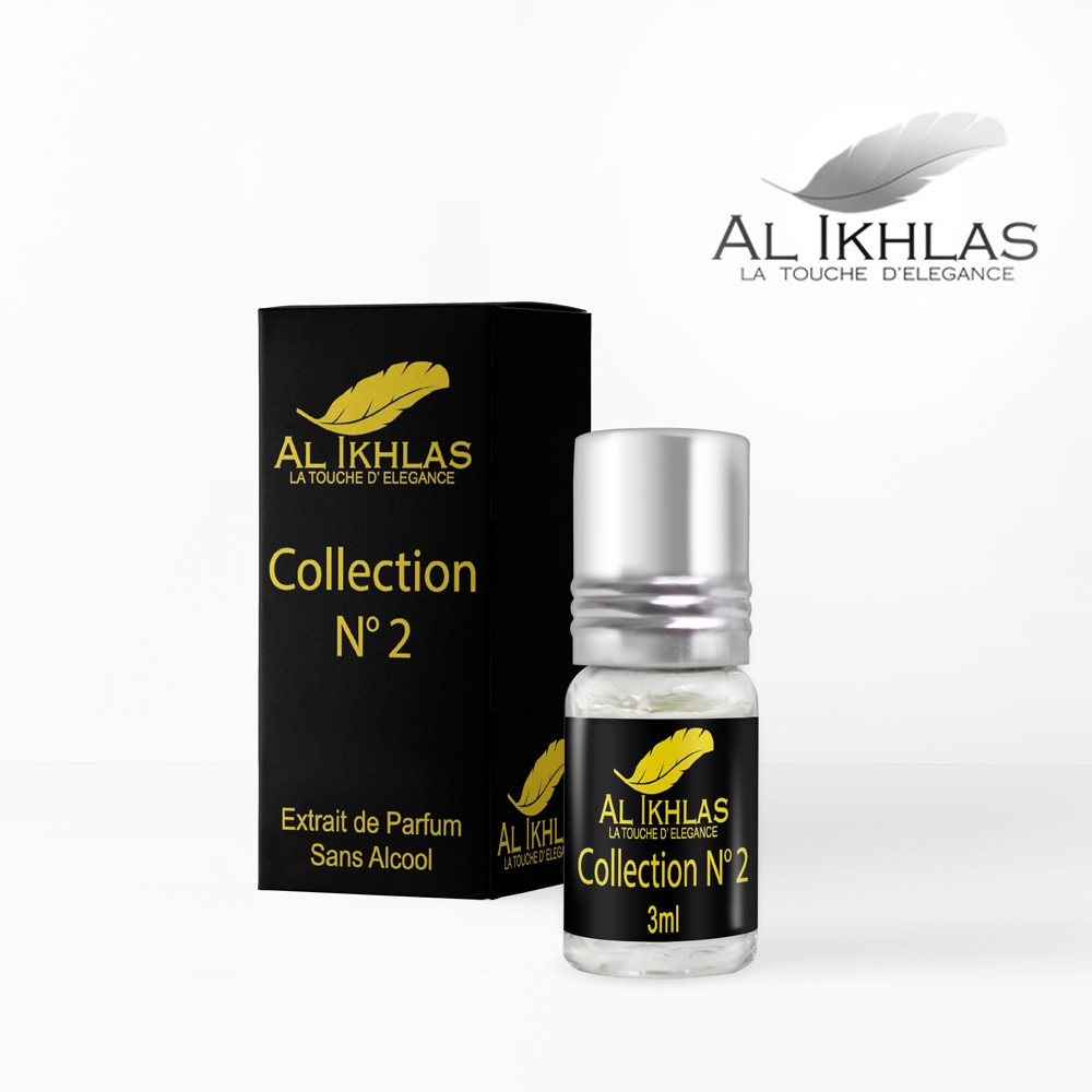 Al ikhlas musc collection N°2 Ambre Nuit