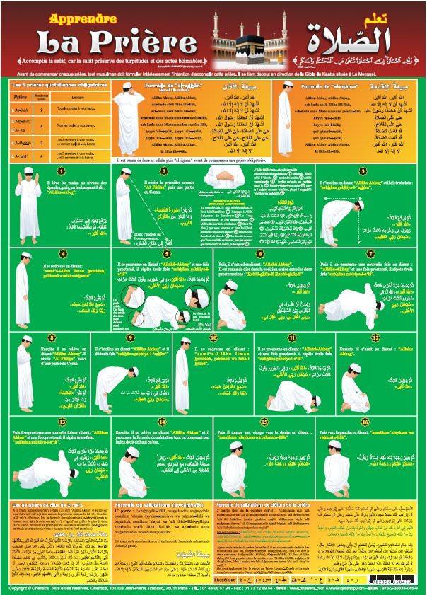 Poster : Apprendre la prière