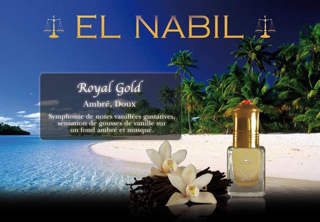Parfum El Nabil  Royal Gold