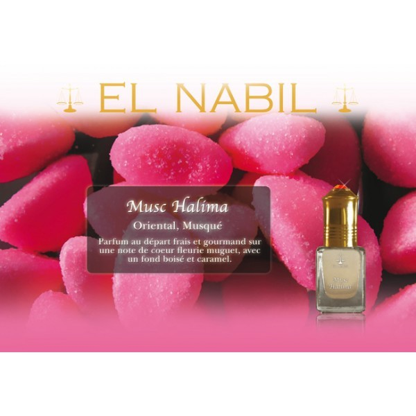 Parfum El Nabil  Musc Halima