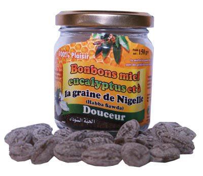 Bonbons Miel Eucalyptus et à la graine de Nigelle (Habba Sawda)