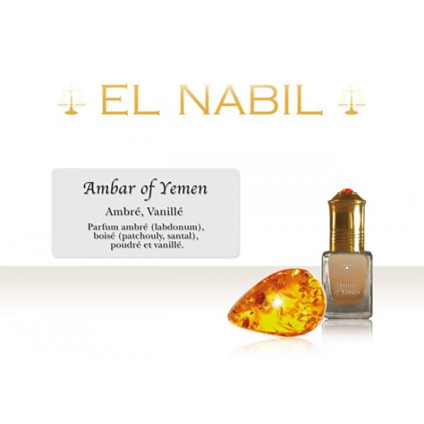 Parfum El Nabil Amber of Yemen