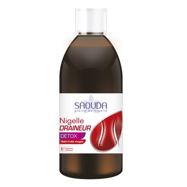 Nigelle Draineur : Boisson drainante et détoxifiante