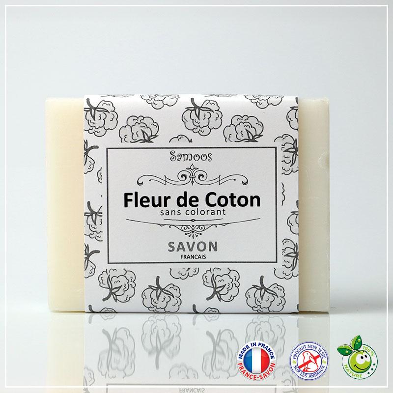 Savon Fleur de coton