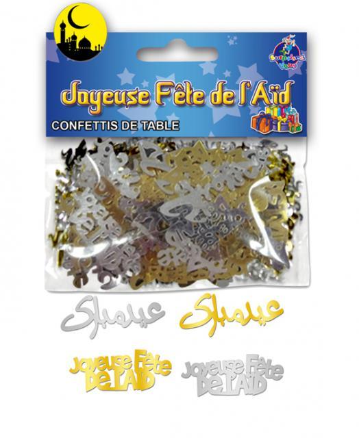 Confettis de table - Joyeuse fête de l\'Aïd