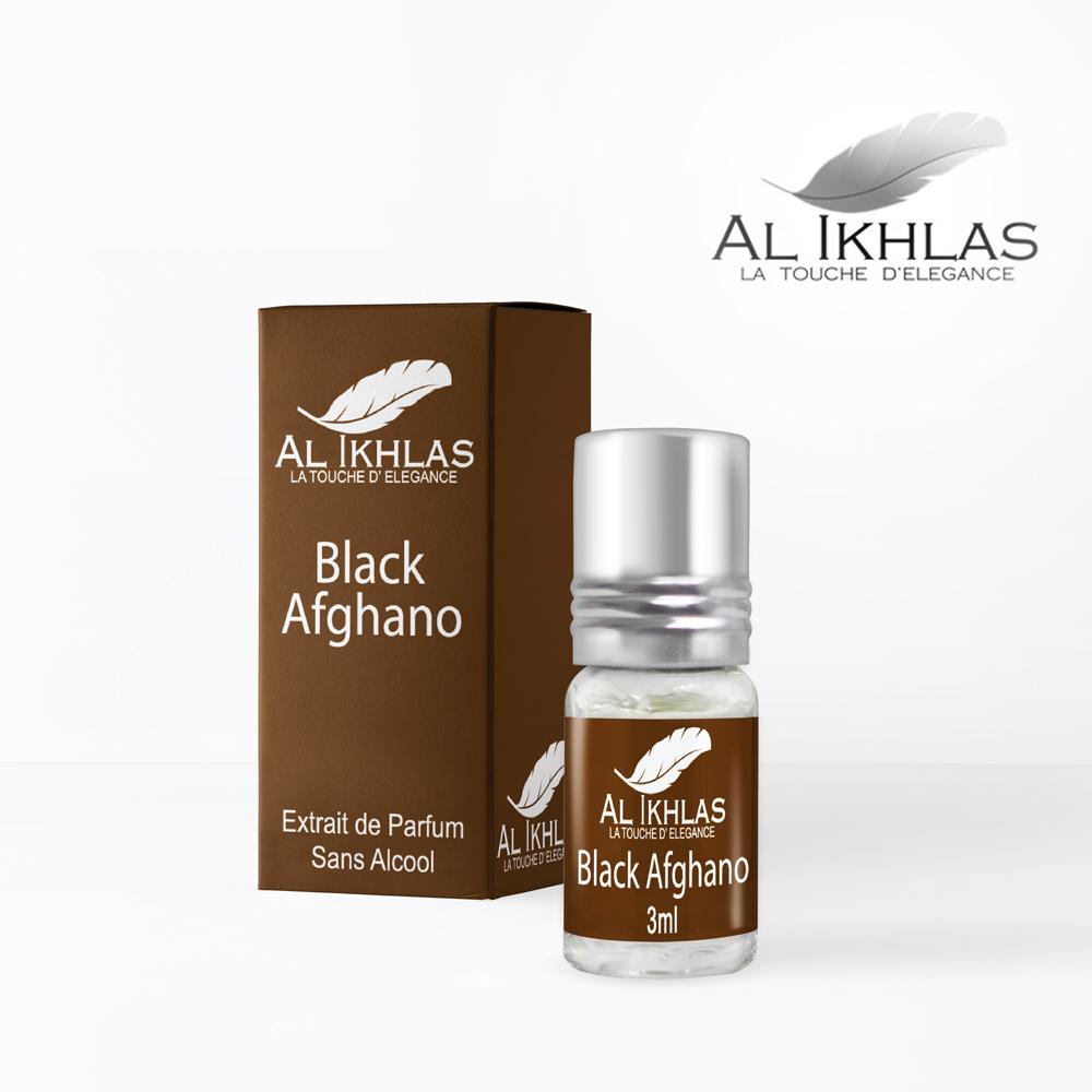 Al Ikhlas musc black afghano