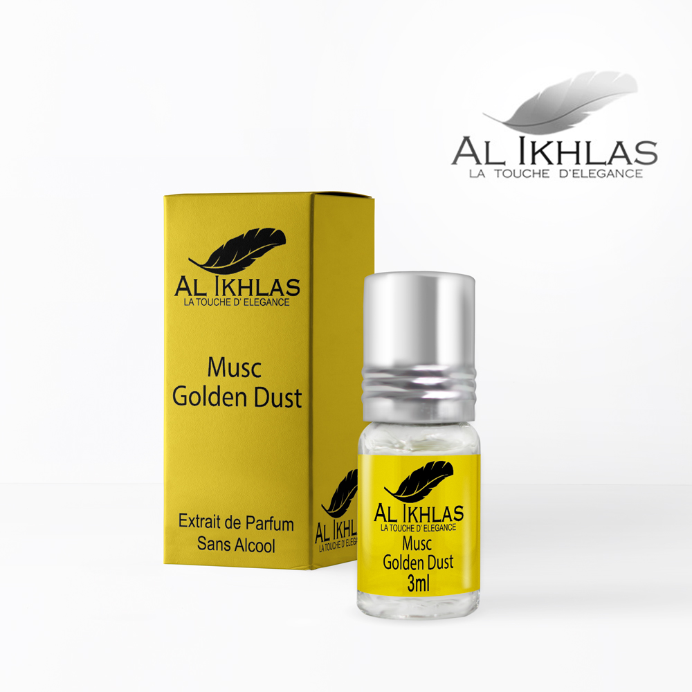 Al Ikhlas musc golden dust