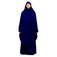 Jilbab 2 pièces AbouSouleïman - Couleur Bleu marine