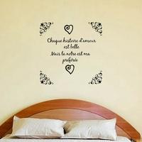 Sticker histoire d'amour