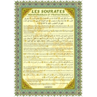 Poster : Les sourates indispensables et protectrices