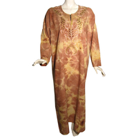 Robe firdaws couleur rouge indien