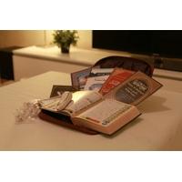 Coran electronique avec sacoche en cuir