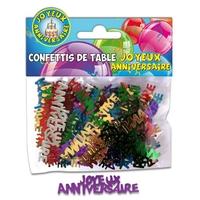 Confettis de table - Joyeux anniversaire