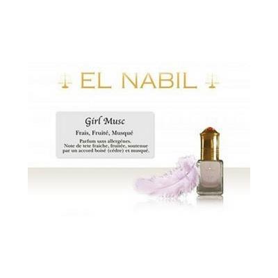parfum el nabil musc girl haut de gamme