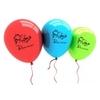 """Sachet de 10 ballons """" Bienvenue """" en français et en arabe"""