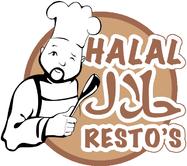 Logo halal resto's
