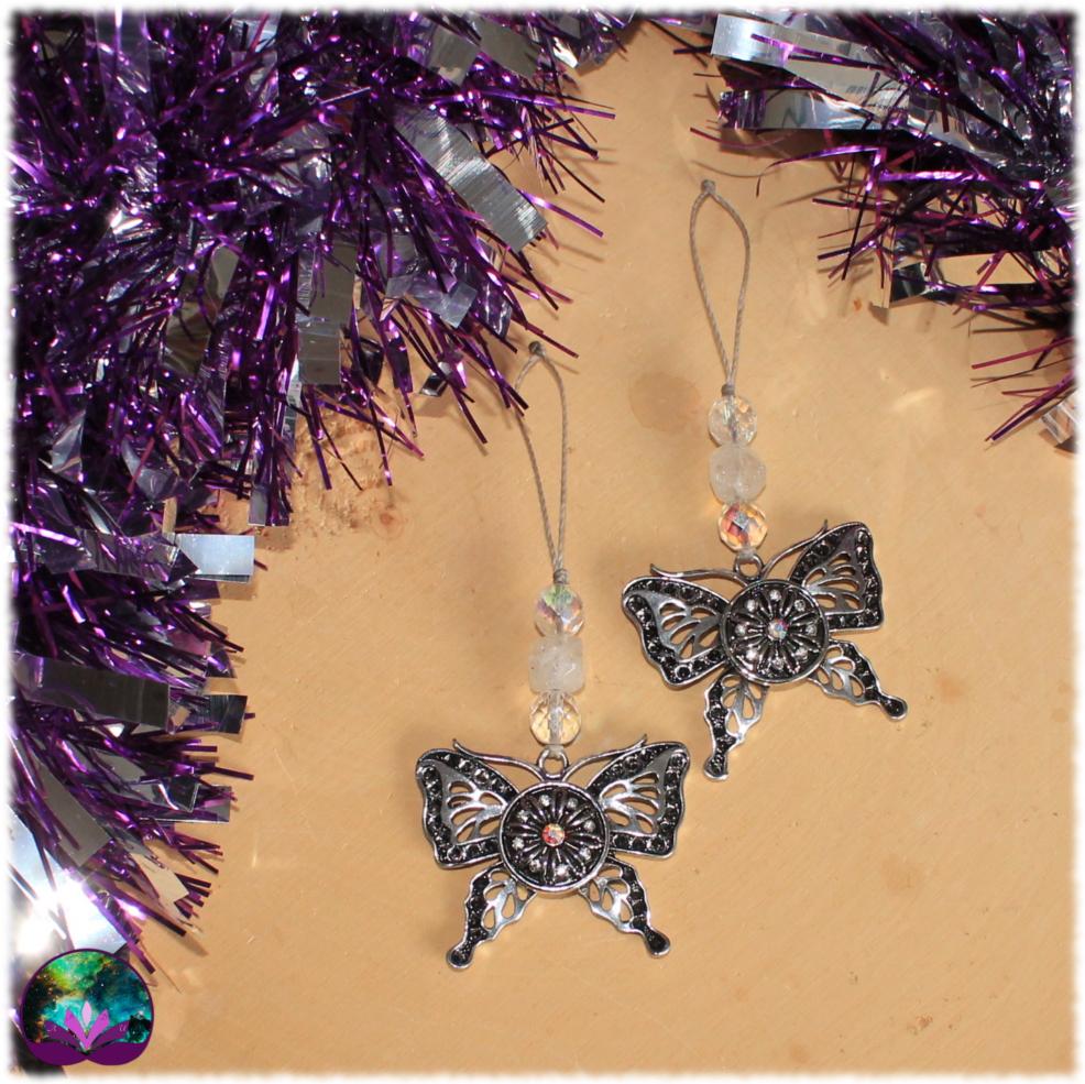 décoration de noel papillon