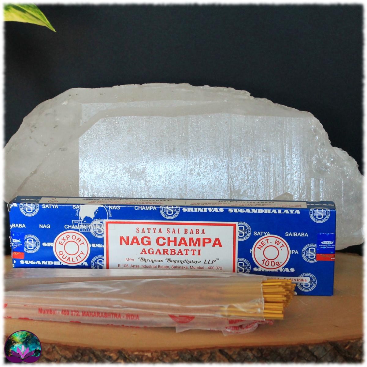Encens Indien NAG CHAMPA 100 Gr