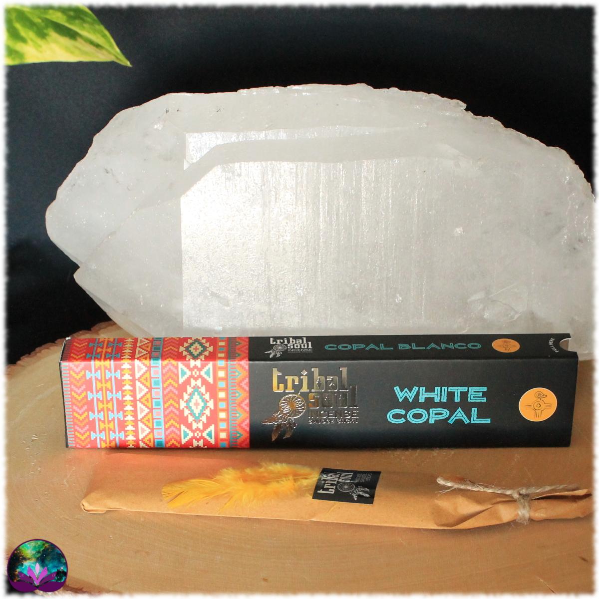 Encens bâton Copal blanc 15 gr de Tribal Soul