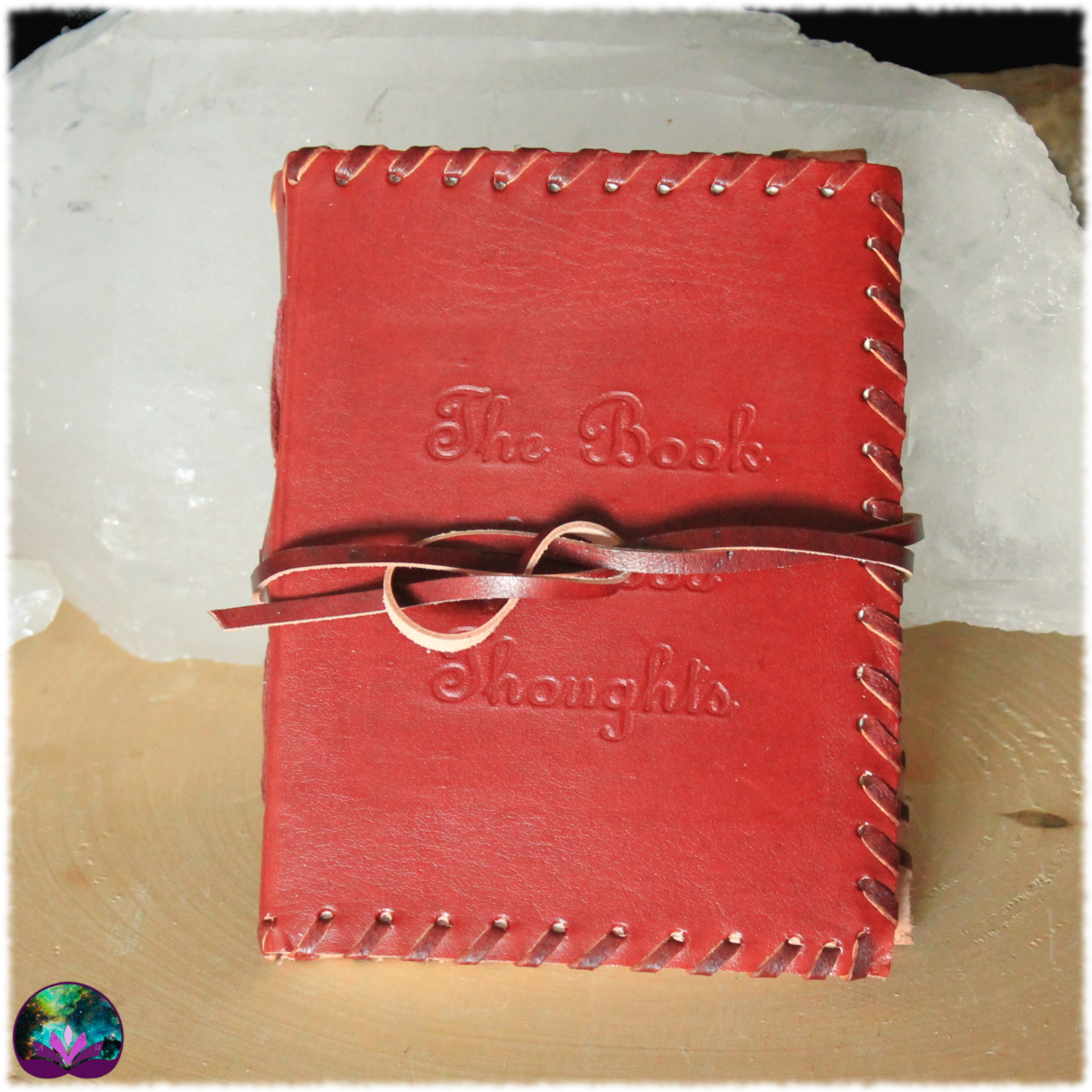 grimoire carnet cuir recueil de pensées book of good thoughts 4