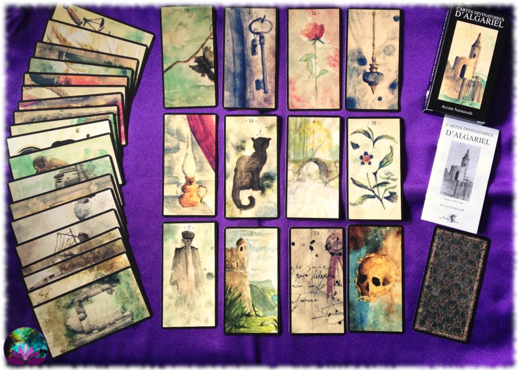 Cartes divinatoires d\'Algariel, le jeu